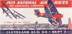 Cleveland Air Race Poster